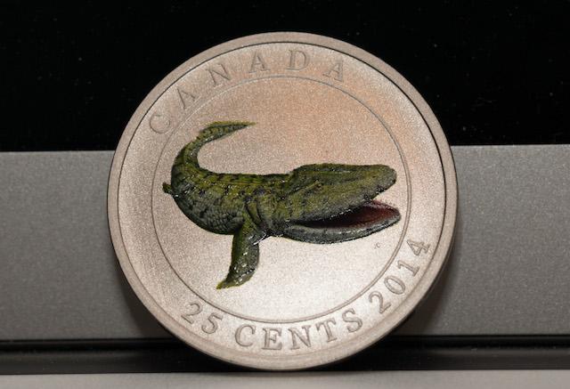 Diana's Tiktaalik Coin