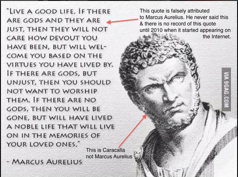 This is Caracalla not Marcus Aurelius