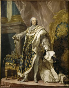 [A portrait of Louis XV of France.]
