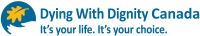 [Logo of Dying With Dignity Canada.]