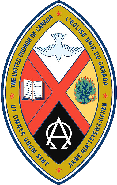 [United Church of Canada crest.]