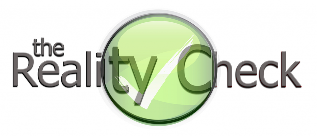 [Logo of The Reality Check podcast]