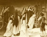 [Painting of the Martyrs of Compiègne]