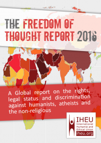 [Cover of the 2016 Freedom of Thought report.]