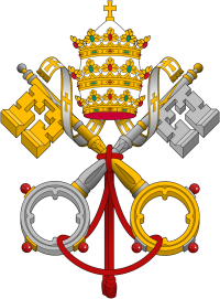 [Emblem of the Holy See.]