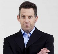 [Photo of Sam Harris.]