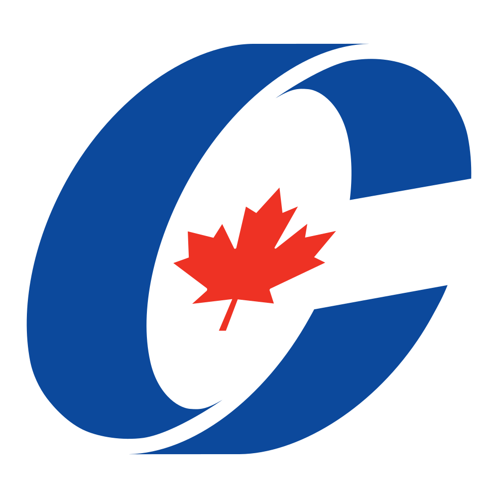[Logo of the Conservative Party of Canada.]