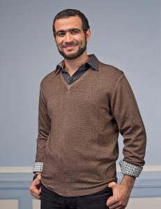 [Photograph of Omar Khadr.]