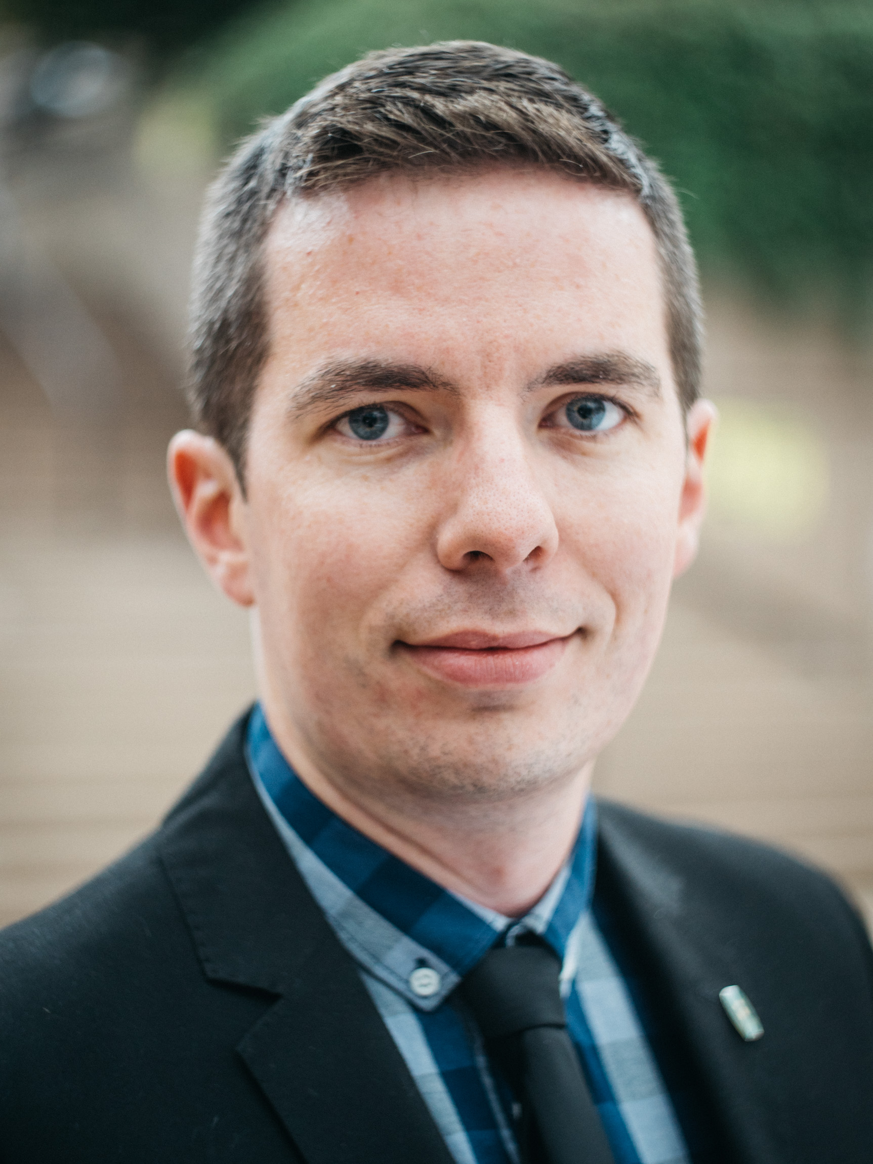 [Photo of Ian Bushfield.]