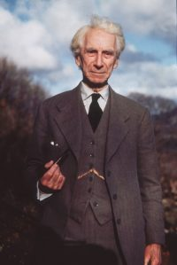 [Photo pf Bertrand Russell]