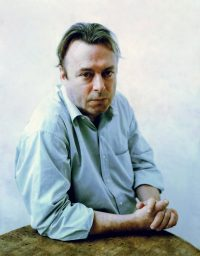 [Photo of Christopher Hitchens]